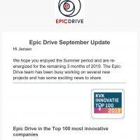 Epic Drive September Update